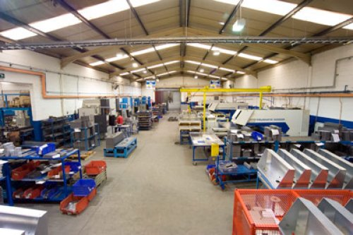 Manufacturing facility in Ireland.